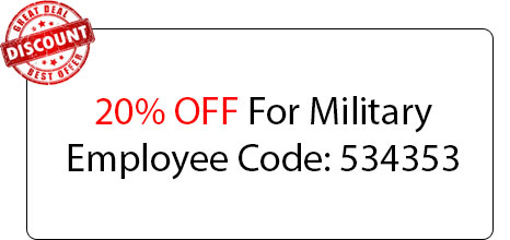 Military Employee Deal - Locksmith at Sacramento, CA - Sacramento Locksmith